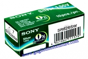 Sony Battery 346 SR 712 SW Mercury Free