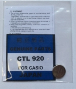 ACCUMULATORE CASIO CTL 920
