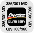 ENERGIZER SILVER OXIDE 386/301